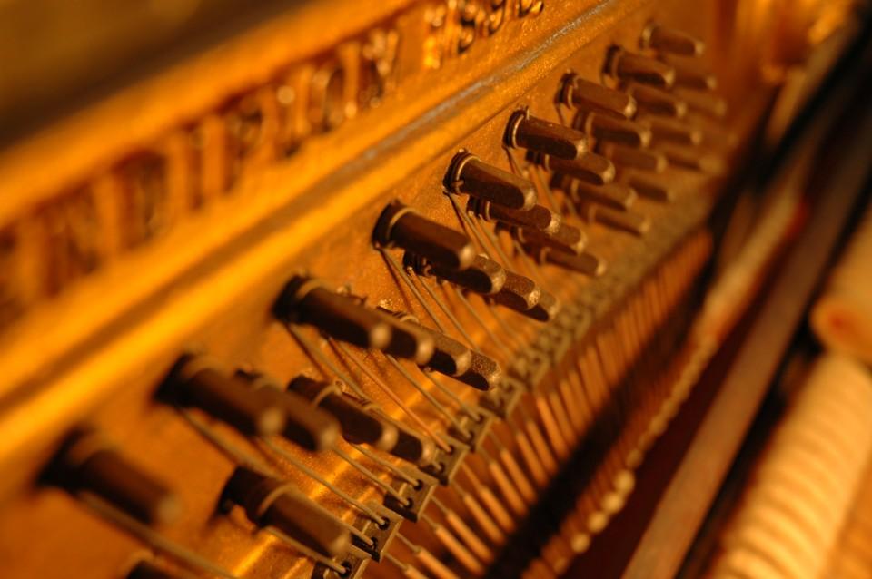 כיוון פסנתרים - טמפרמנט והכיוון המושווה